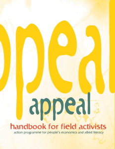 Appeal Handbook